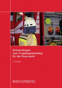Antwortbogen zum Fragebogenkatalog für die Feuerwehr