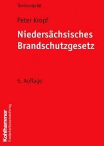 Niedersächsisches Brandschutzgesetz, Textausgabe