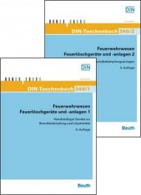 DIN-Taschenbuch 346/1 und 346/2. Feuerlöschgeräte und -anlagen