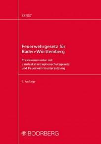 Feuerwehrgesetz für Baden-Württemberg