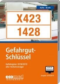 Gefahrgut-Schlüssel CD-ROM, Ausgabe 2019/2020