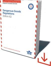 IATA-Gefahrgutvorschriften DGR 2021. Webdownload, deutsch