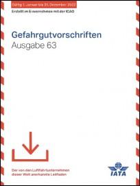 IATA-Gefahrgutvorschriften 2022. Webdownload, deutsch