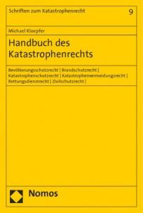 Handbuch des Katastrophenrechts