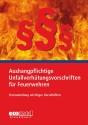 Aushangpflichtige Unfallverhütungsvorschriften für Feuerwehren